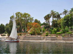 Kitchener island (the botanical garden of Aswan)