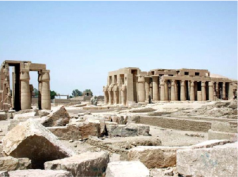 Mortuary temple of king RamsessII (Ramesseum)