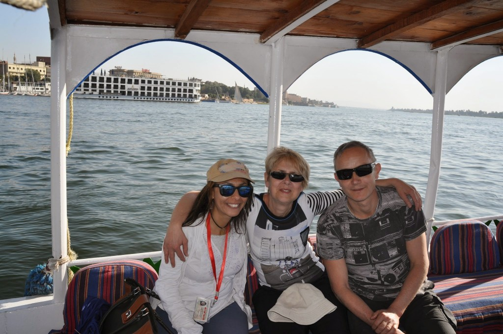 Luxor visit and its surrounding with Abir - March 2015 Sylvie Patrice
