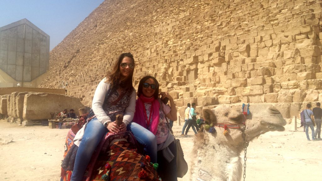 Pyramids of Giza and Sphinx with a private tour guide