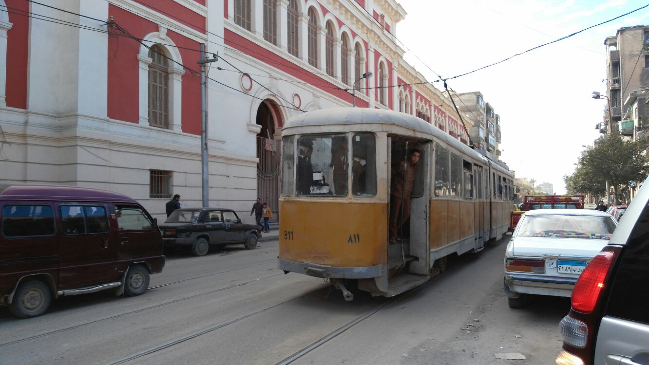 Le tramway d'Alexandrie